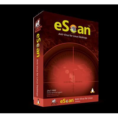 eScan Anti-Virus for Linux Desktops